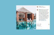 Hashtags como #bathroomselfie se repiten más de un millón y medio de veces en Instagram. Pero hay más: #bathroomgoals, #bathroomsoftheworld, #hotelbathroom, #bathtubgoals y #bathroomview arrasan también. De ahí que la compañía británica Mira Showers decidiera realizar un estudio para identificar a los hoteles que están detrás del curioso fenómeno de la viralidad de la bañera. Es más, su ránking revela el coste  del <em>like</em> que obtiene  al dividir lo que cuesta la habitación con el número de <em>me gusta</em>. Con un precio de unos 60.000 euros la noche (temporada alta), esta suite en el hotel Conrad Maldives con el retrete al borde del agua gana el oro indiscutible en Ig.