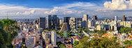 Panorámica del distrito financiero de Río de Janeiro.