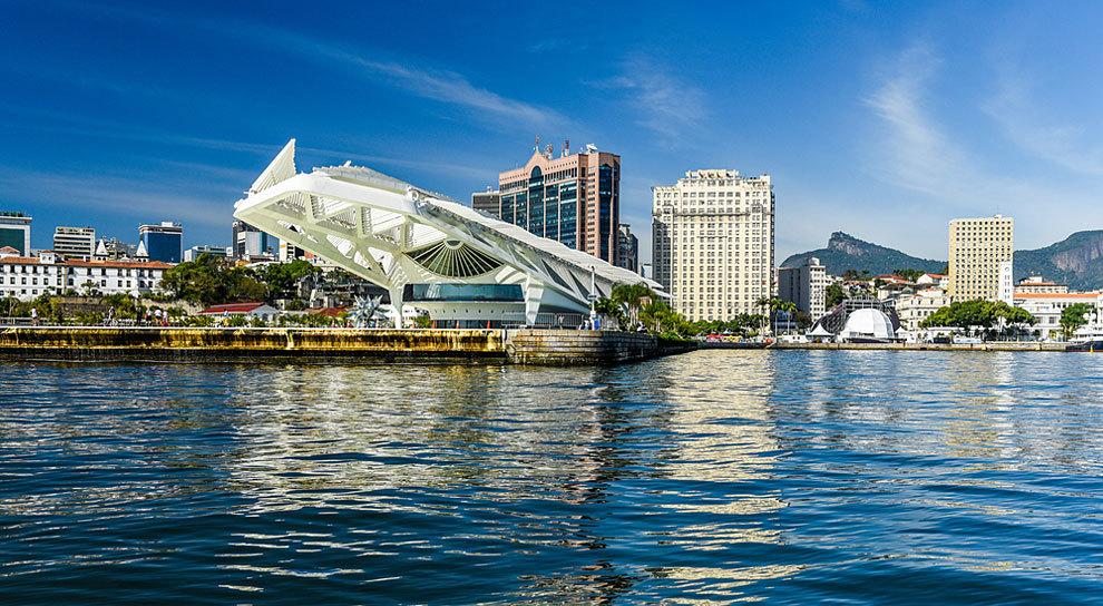 El Museo del Mañana firmado por Santiago Calatrava.