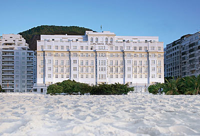 Hotel Belmond Copacabana Palace.