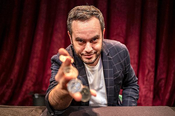 El mago Jorge Blass, director del Festival Internacional de Magia de...