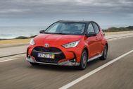 Al volante del Toyota Yaris híbrido: más potencia y menos consumo es posible