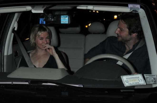Los actores, durante su noviazgo.