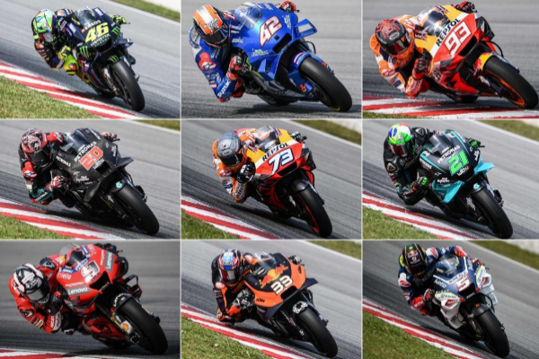 The Motogp Hornet By 2020 19 Riders Roll In The Same Second Teller Report
