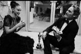 Rooney Mara y Joaquin Phoenix causan furor con su foto post Oscars