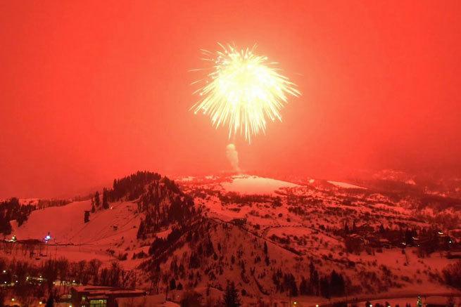 Los fuegos artificiales más grandes del mundo baten el Récord Guinness en Colorado