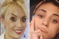 Marta Calvo, cuyo cuerpo se sigue buscando, y Wafaa Sabbah, desaparecida desde noviembre.