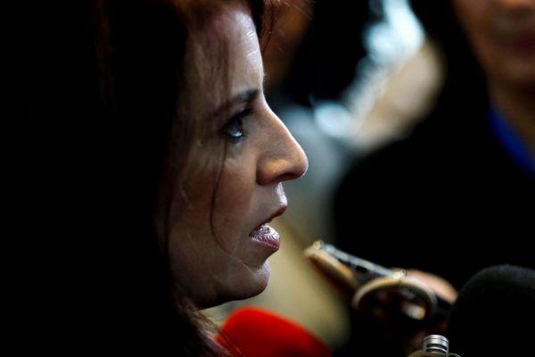 Adriana Lastra, portavoz parlamentaria del PSOE.