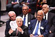 Abu Mazen ante el Consejo de Seguridad de la ONU.