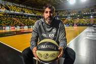 Entrevista a Alex lt;HIT gt;Mumbrú lt;/HIT gt;, entrenador del Bilbao Basket. 11/02/2020 - ARABA PRESS - Bilbao, País Vasco