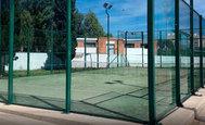 Pistas pádel del complejo deportivo Sindical de Castellón.