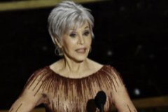 Jane Fonda en la Gala de los Oscar 2020.