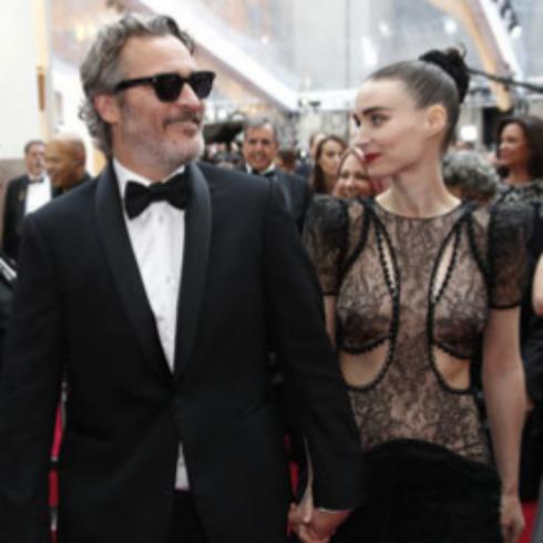Joaquin Phoenix y Rooney Mara. Foto: Gtresonline.