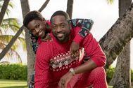 Wade, junto a su hija.