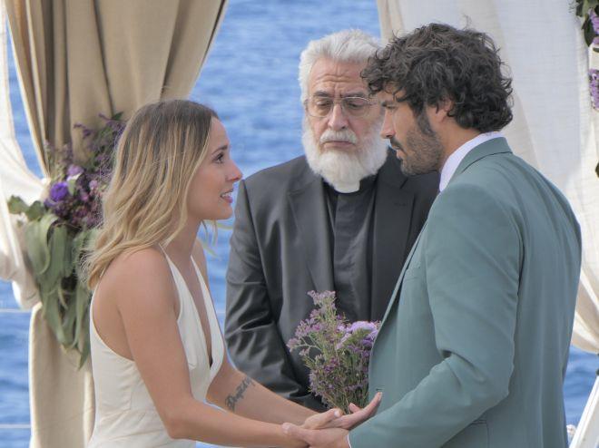 De izda. a dcha., Silvia Alonso, Leo Harlem y Álex García.