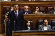 """Sánchez degrada al """"opositor"""" Guaidó"""