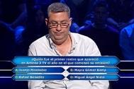Eduardo Benito falla y pierde 18.500 euros en ¿Quién quiere ser millonario?.