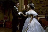 Alain Delon y Claudia Cardinale en 'El gatopardo'.