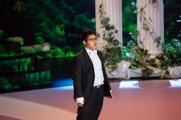 Jesús Gabriel, uno de los niños participantes en 'Prodigios'.