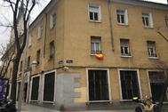 Fachada del edificio donde se ubica el piso empleado por el Ministerio del Interior