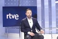 Entrevista a Santiago Abascal, líder de Vox, en TVE.