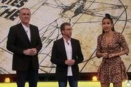 Cristina Pedroche bromea sobre la altura de Pablo Motos en El Hormiguero.