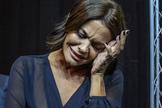 María José Suárez, este jueves en la presentación de su nueva colección.