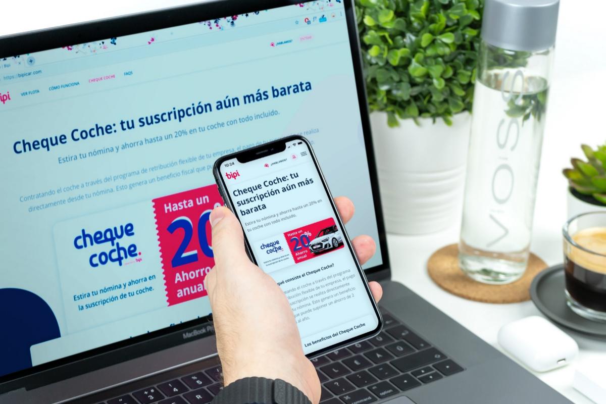 Bipi lanza un 'cheque coche' para empresas en España