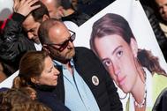 Manifestación tras la desaparición de Marta del Castillo.
