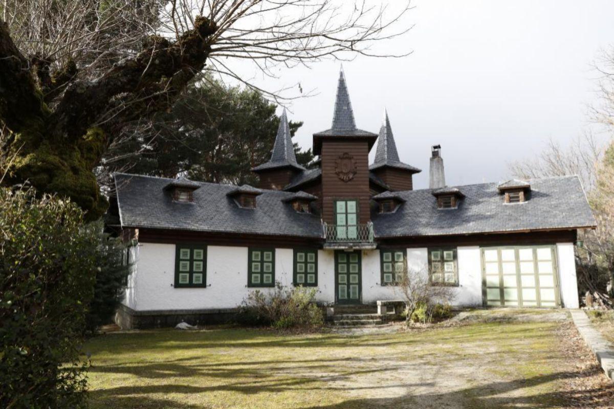 Chalé conocido como las Tres Torres en la colonia.