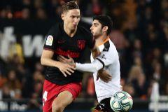 Vibrantes tablas entre Valencia y Atlético