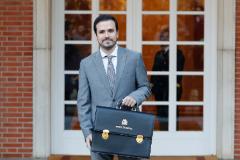La corte malagueña de Alberto Garzón en el Ministerio de Consumo