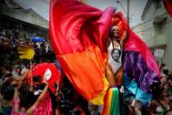 Imagen del pasado carnaval de Río de Janeiro