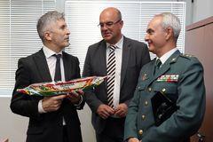 El ministro Fernando Grande-Marlaska, en un acto esta semana.