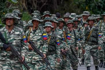 Maniobras militares del 'Escudo Bolivariano 2020'.