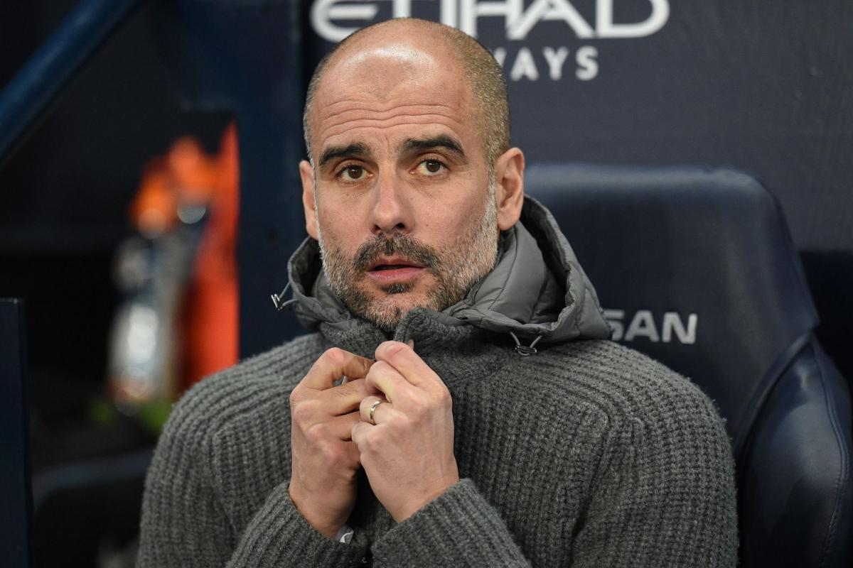 Pep Guardiola, técnico del Manchester City.
