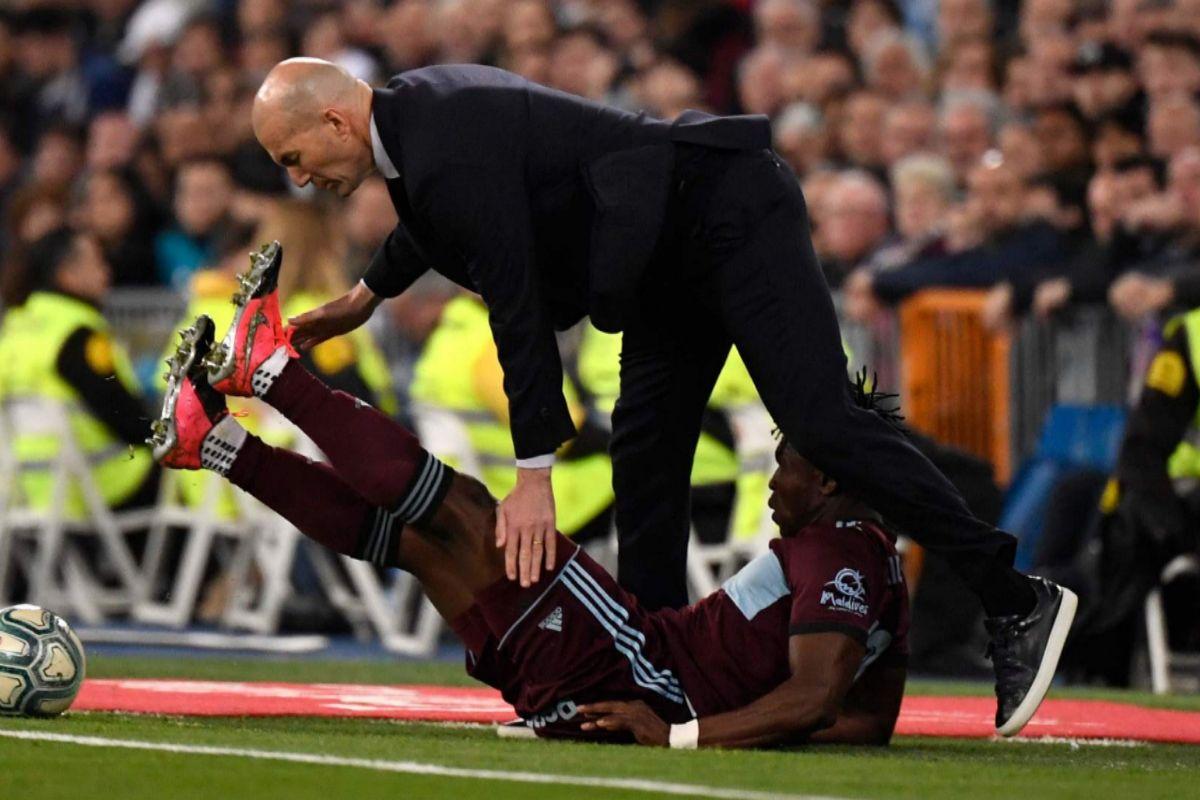 La mala noche de Zidane: una defensa temblorosa y una patada en la cara