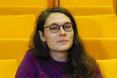 La matemática Emmy Murphy, en el ICMAT de Madrid