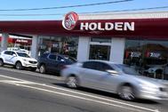 Frontal de un concesionario de Holden en Melbourne (Australia)