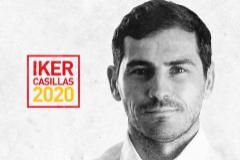 Imagen promocional de la candidatura de Casillas.