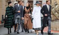 La familia Grimaldi, Beatrice Borromeo, Alexandra de Hannover y Tatiana Santo Domingo,  vestidas de Dior, junto a Pierre y Andrea Casiraghi, recuperaron el glamour de antaño  en la última celebración del Día Nacional de Mónaco.