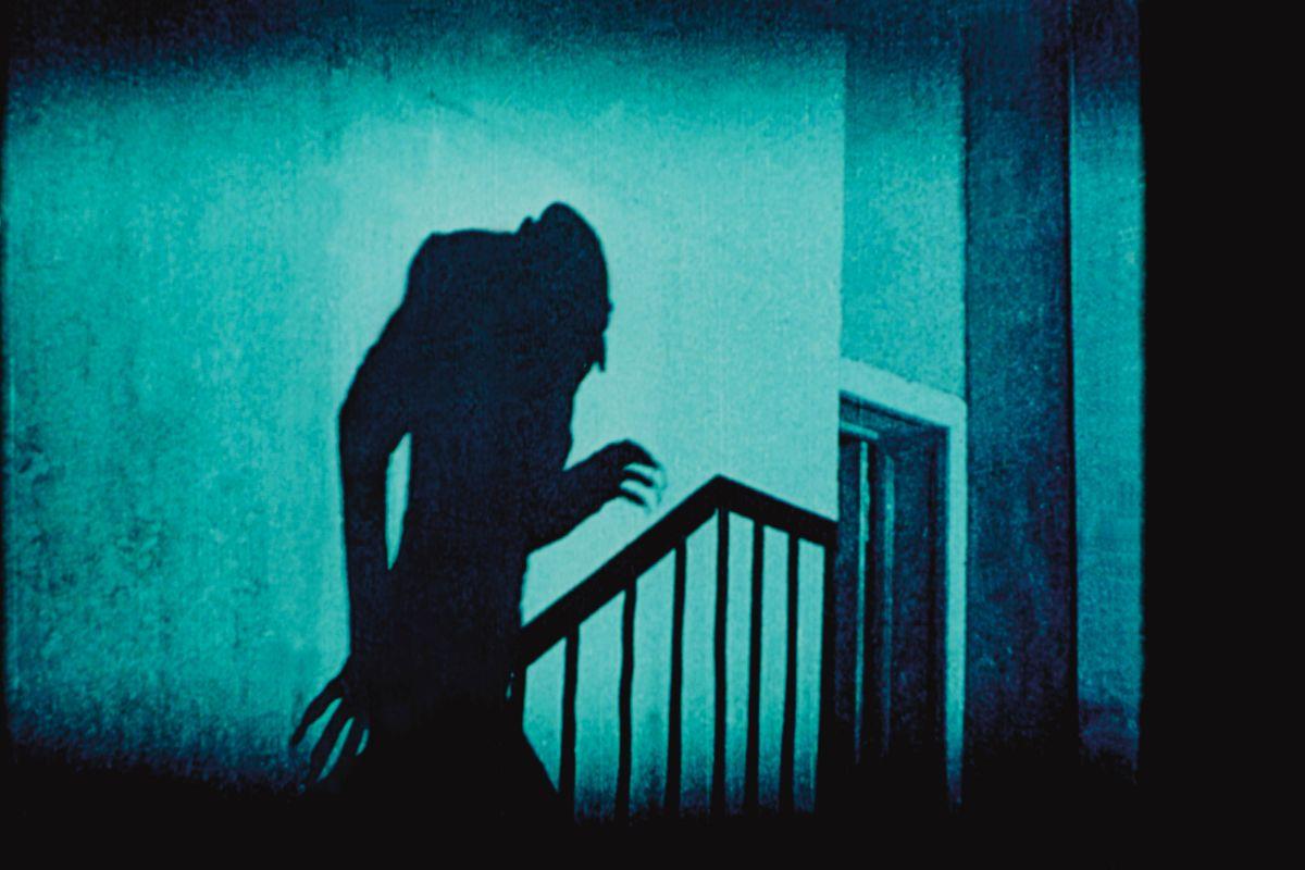 Max Schreck en 'Nosferatu' (1922), de Murnau.