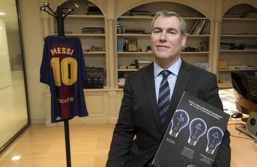 Emilio Rousaud, el pionero en la venta de kilovatios que aspira a presidir el Barça