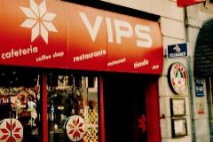 Imagen del primer restaurante de Vips en España