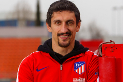 Angel Navarrete 17/02/2020 Madrid, Comunidad de Madrid Stefan lt;HIT gt;Savic lt;/HIT gt;, jugador del Atletico de Madrid