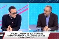 Juan Carlos Girauta se niega a retractarse y Risto Mejide lo expulsa del plató de Todo es mentira.