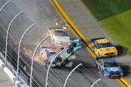 Accidente de Newman en las 500 Millas de Daytona.