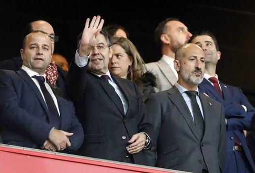 El Barça en las redes fecales
