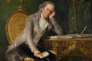 Gaspar Melchor de Jovellanos, retratado por Francisco de Goya.