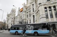 La línea de autobús gratuita por el centro de Madrid arranca con una previsión de 4,7 millones de viajeros al año